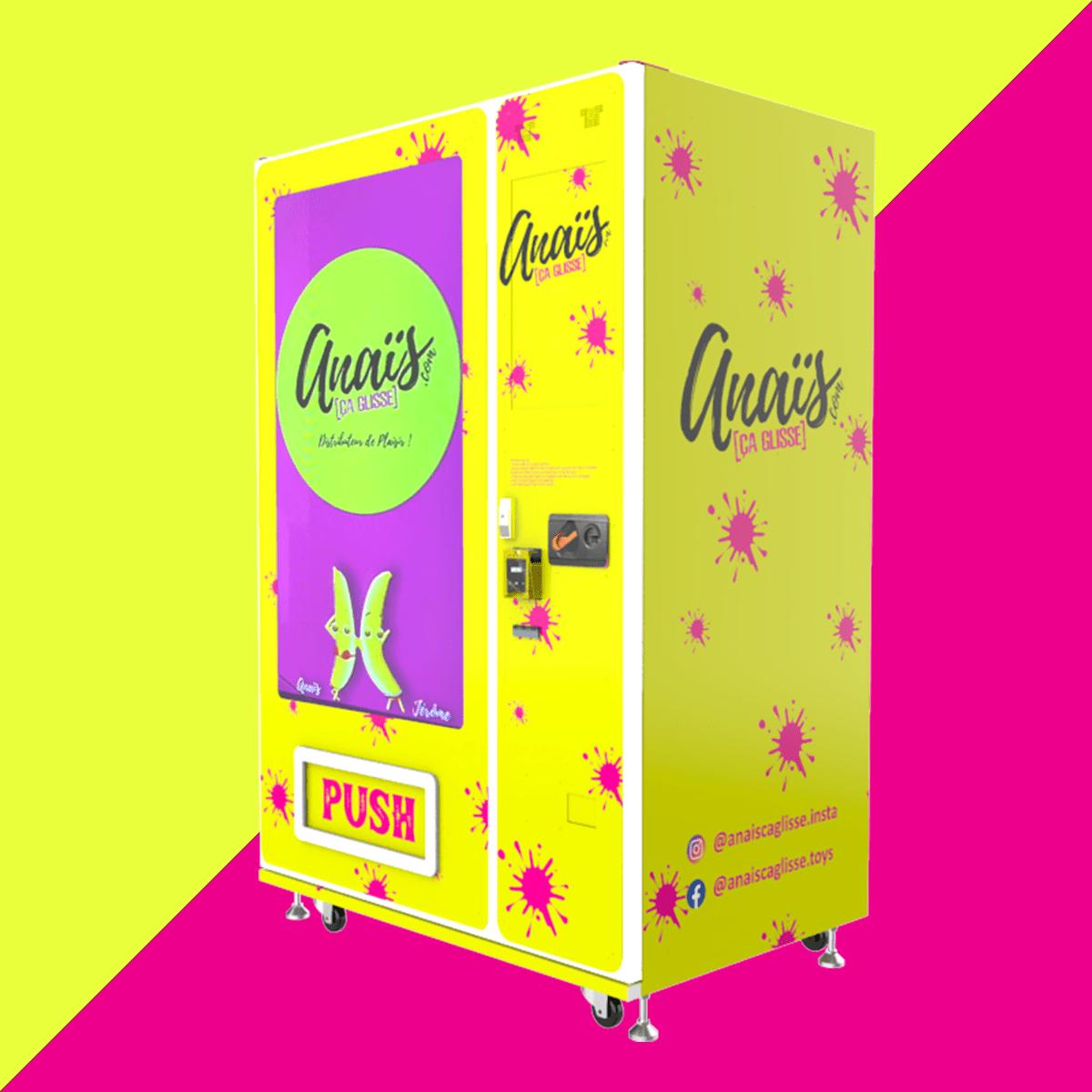 distributeur automatique sextoy jouet coquin